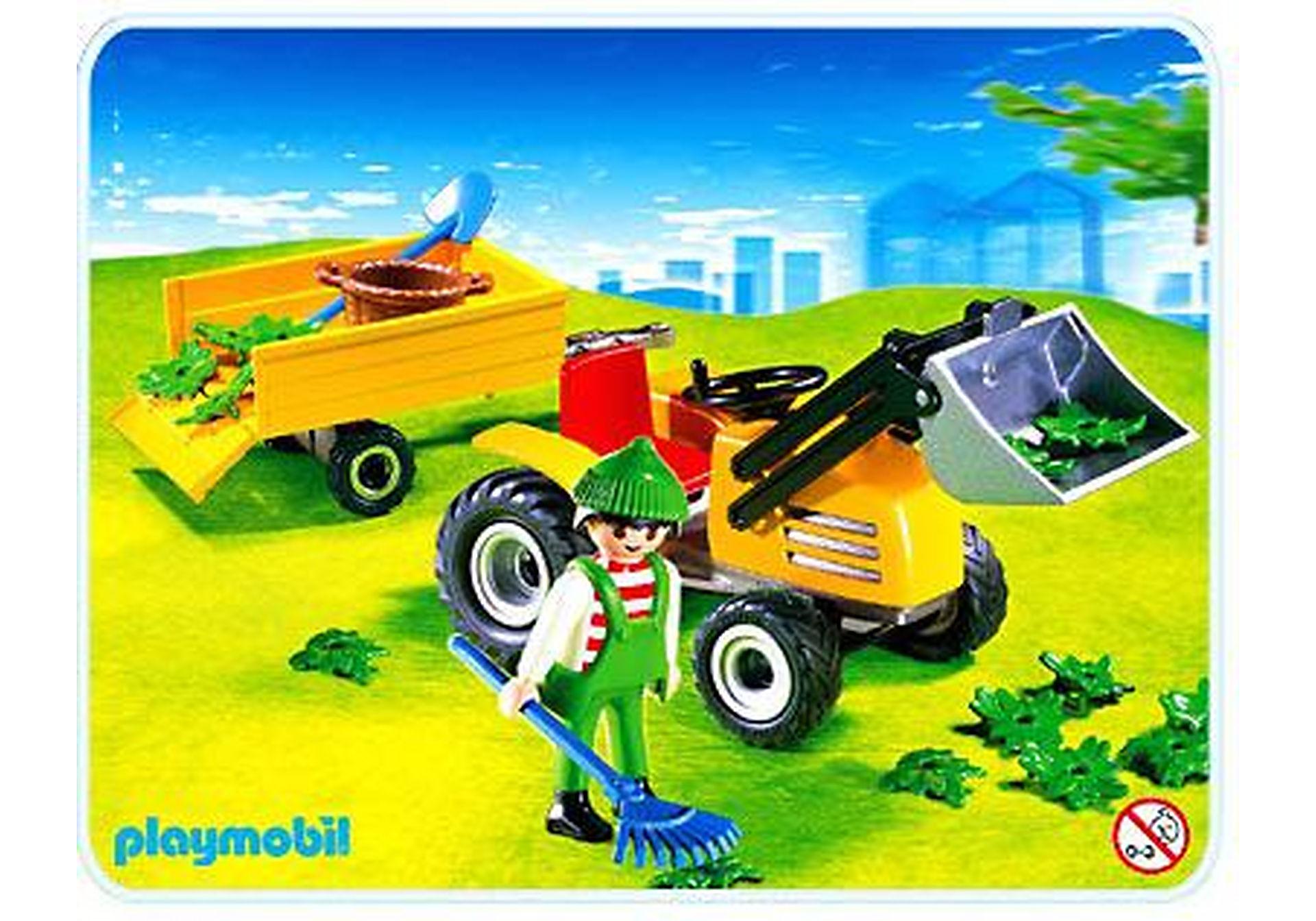 4486-A Jardinier / tracteur / remorque zoom image1