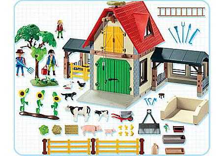 4490-A Großer Bauernhof detail image 2