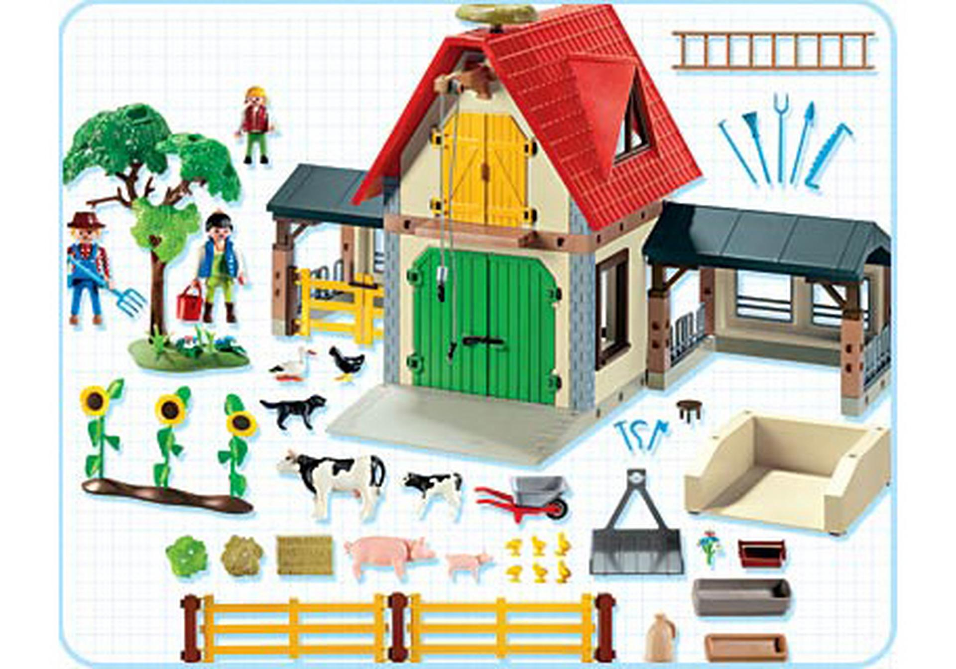 großer bauernhof  4490a  playmobil® deutschland
