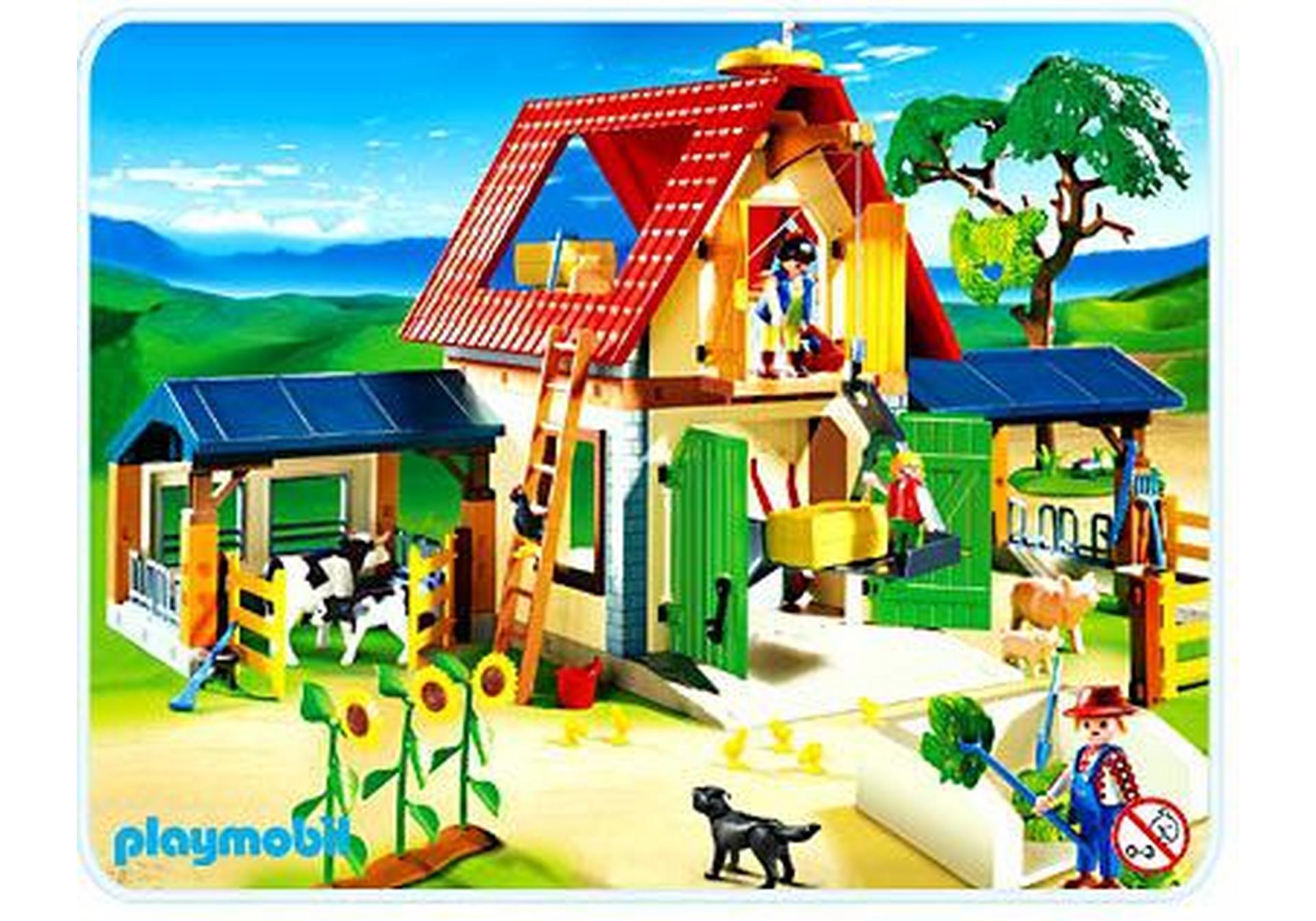 Gro er bauernhof 4490 a playmobil deutschland for Jugendzimmer playmobil