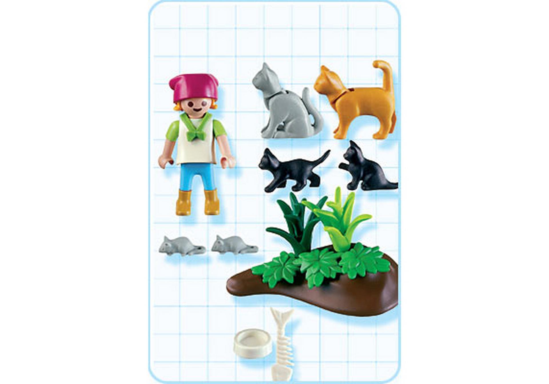 Katzenfamilie 4493 a playmobil deutschland for Jugendzimmer playmobil