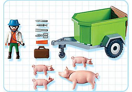 4495-A Vétérinaire / cochons detail image 2