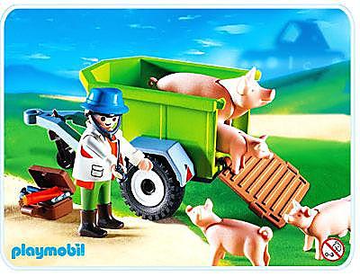 4495-A Vétérinaire / cochons detail image 1