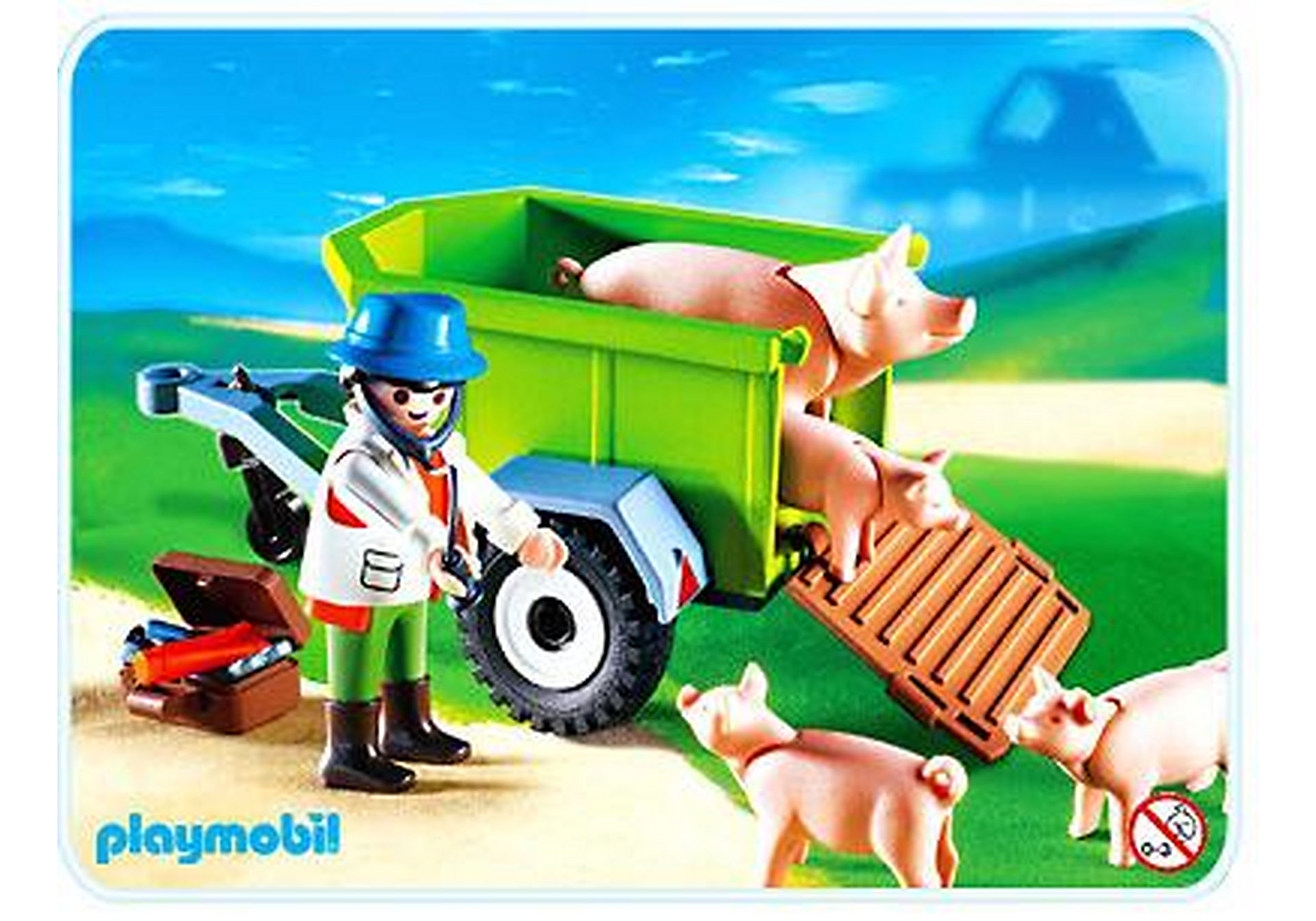 4495-A Vétérinaire / cochons zoom image1