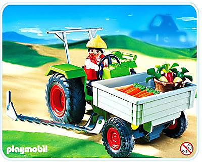 4497-A Fermier / tracteur faucheuse detail image 1