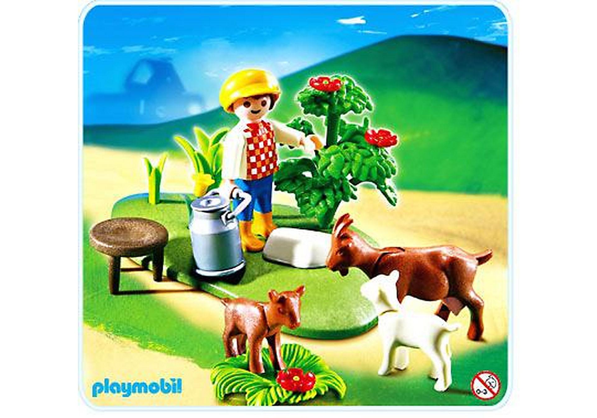 4499-A Enfant / chèvres zoom image1