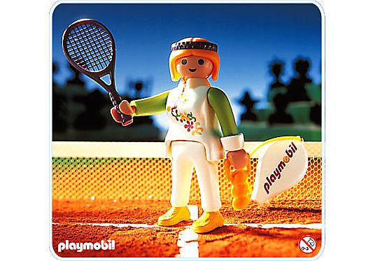 4509-A Joueuse de tennis detail image 1