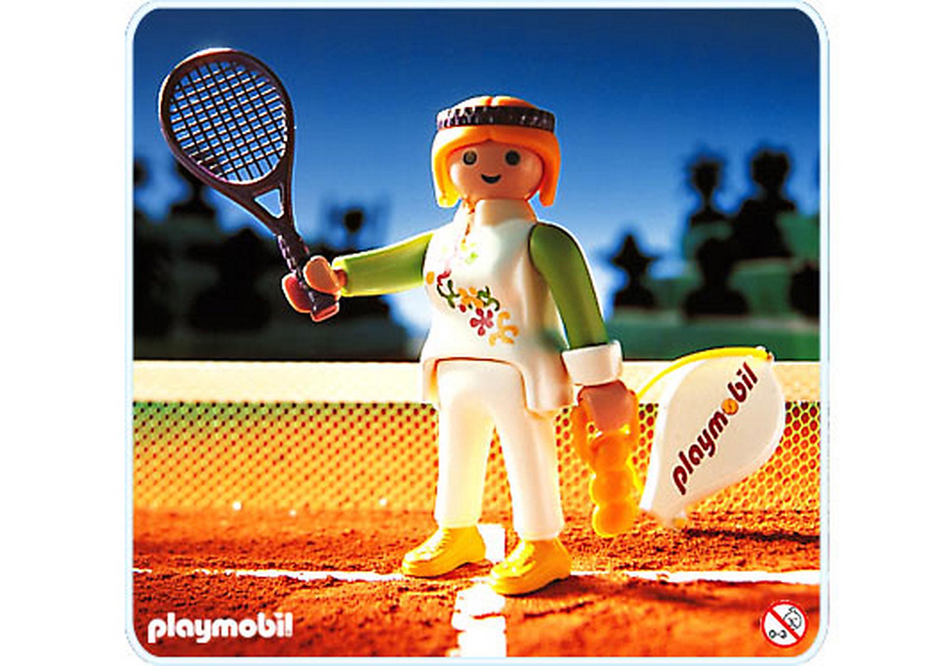 4509-A Joueuse de tennis zoom image1