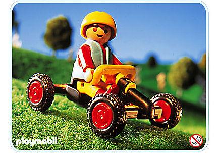 4510-A Junge mit Kettcar detail image 1