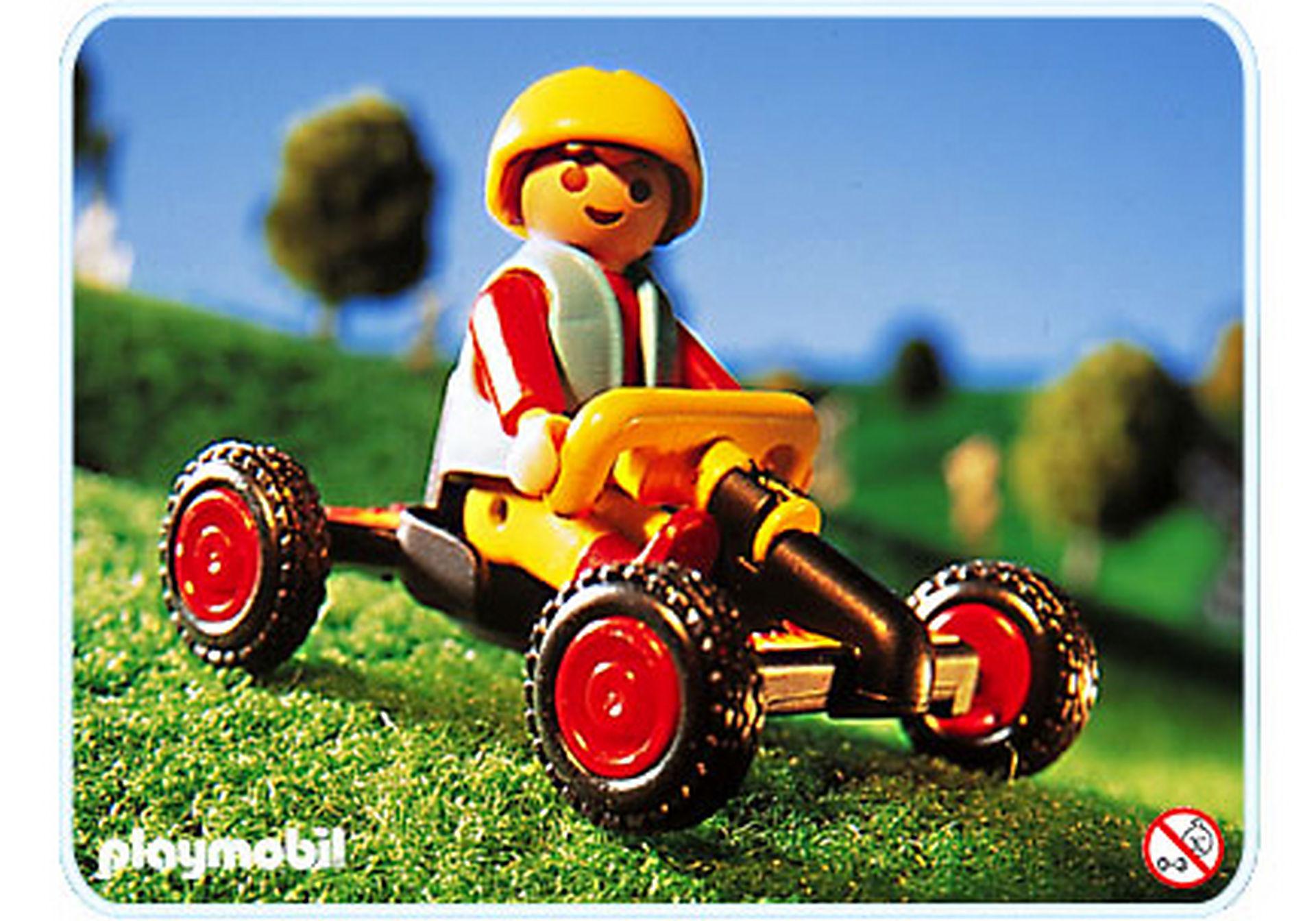 4510-A Junge mit Kettcar zoom image1