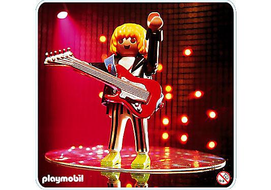 4512-A Guitariste de rock detail image 1