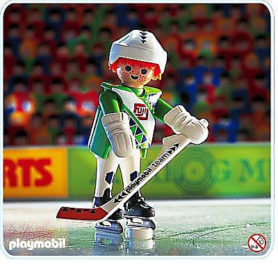 4513-A Eishockeyspieler detail image 1