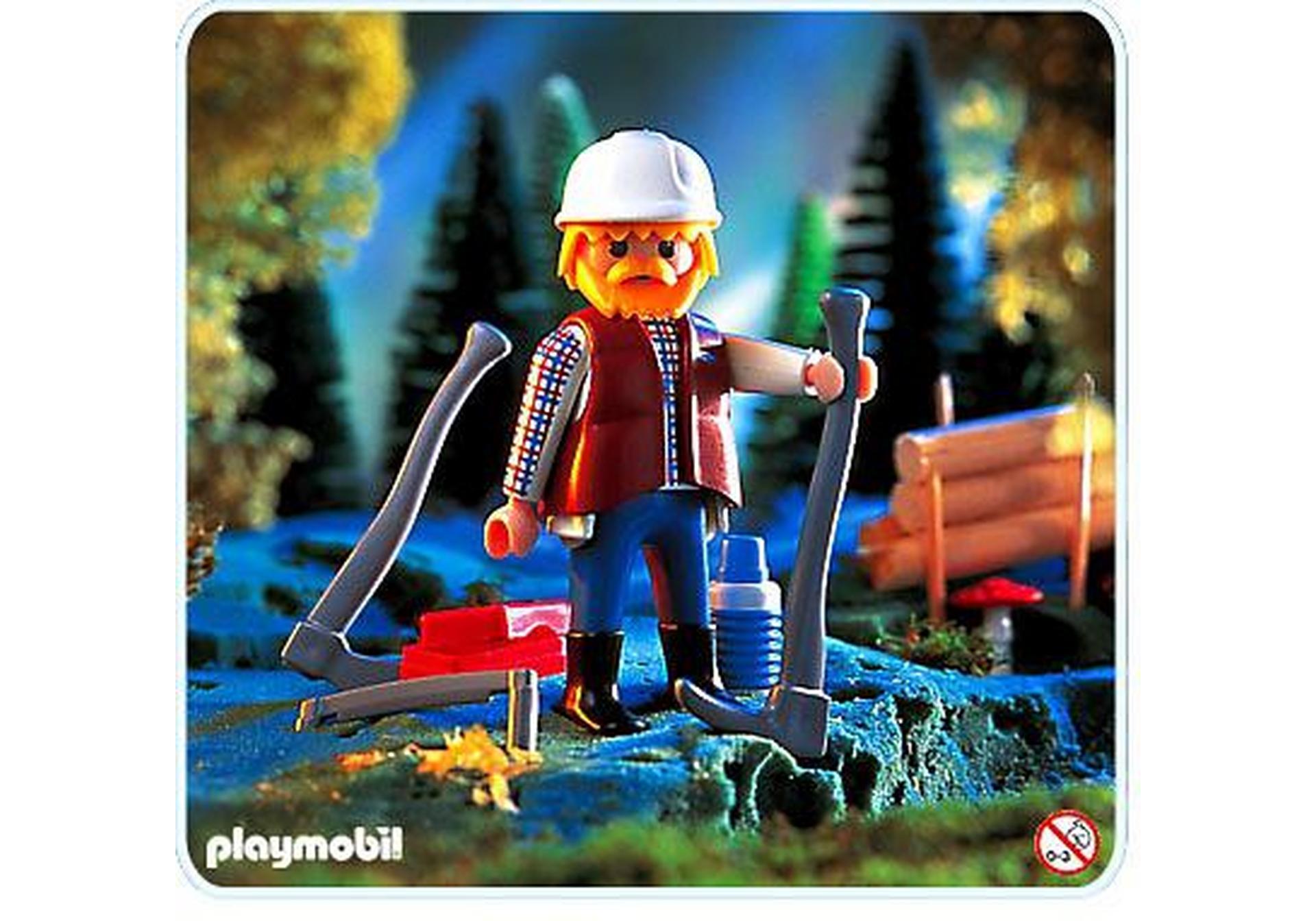 Holzf ller 4515 a playmobil deutschland for Jugendzimmer playmobil