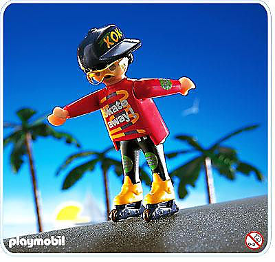 4523-A In-Line-Skater detail image 1