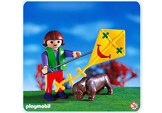4543-A Kind mit Drachen detail image 1