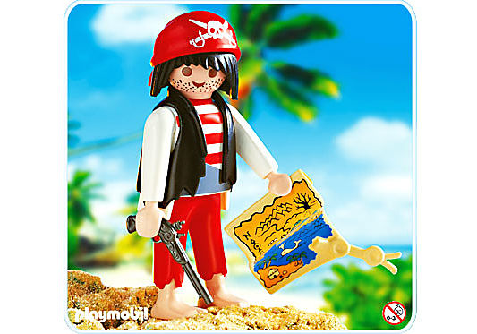 4558-A Roter Pirat detail image 1