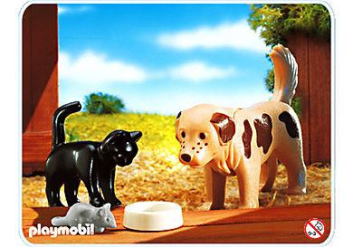 4563-A Hund / Katze / Maus