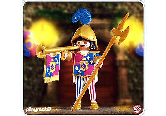4568-A Garde du chôteau detail image 1