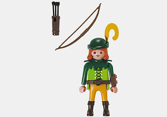 4582-A Robin Hood detail image 2
