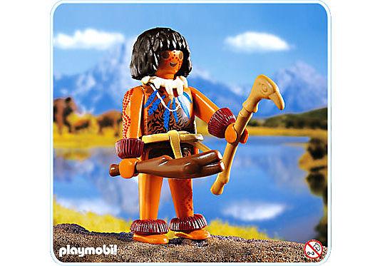 4592-A Homme préhistorique detail image 1