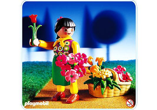 4597-A Blumenfrau detail image 1