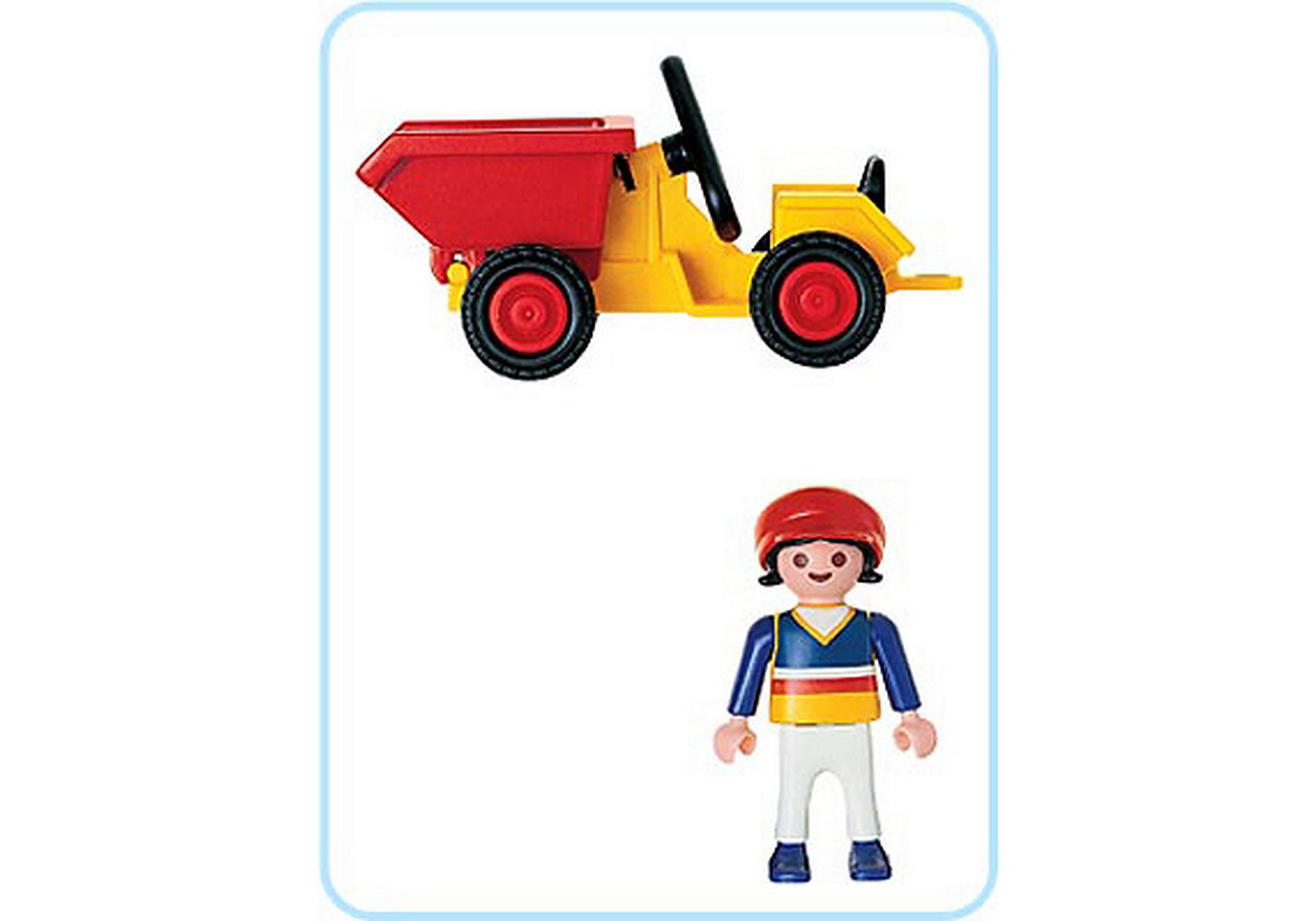 4600-A Enfant/tracteur zoom image2