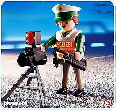 4609-A Policier/radar detail image 1