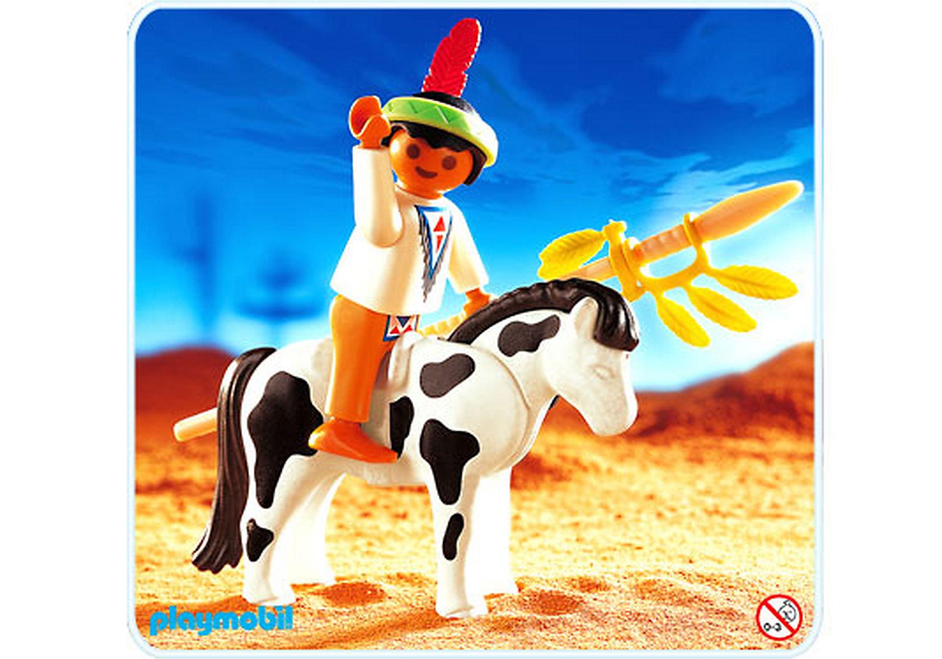 4629-A Indianerjunge mit Pony zoom image1