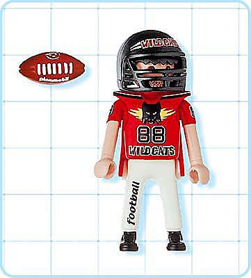 4635-A Footballspieler detail image 2