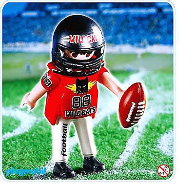 4635-A Footballeur américain detail image 1