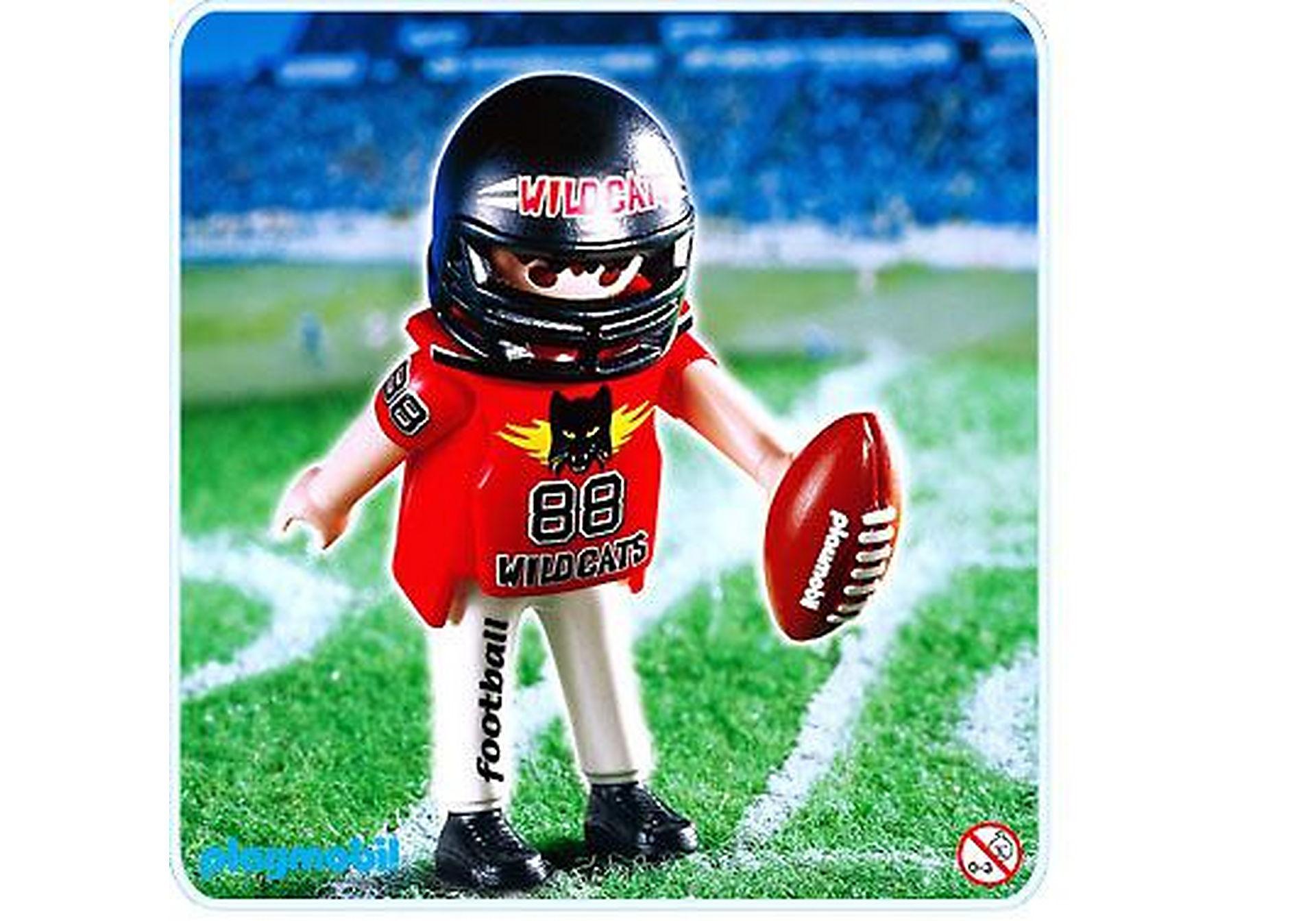4635-A Footballeur américain zoom image1