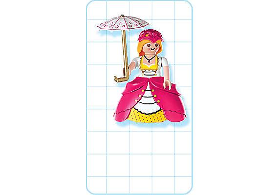 4639-A Dame de compagnie / ombrelle detail image 2