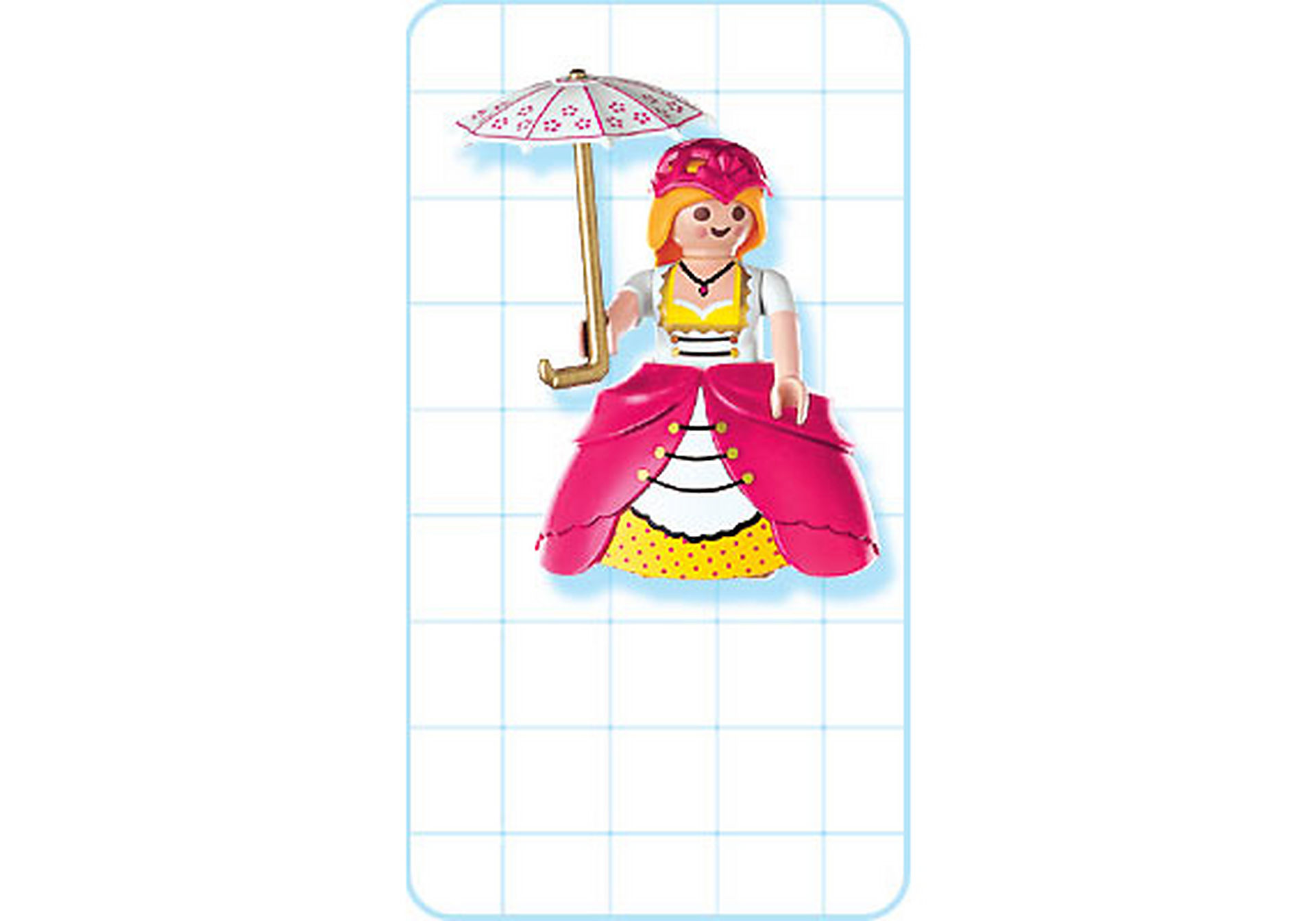 4639-A Dame de compagnie / ombrelle zoom image2
