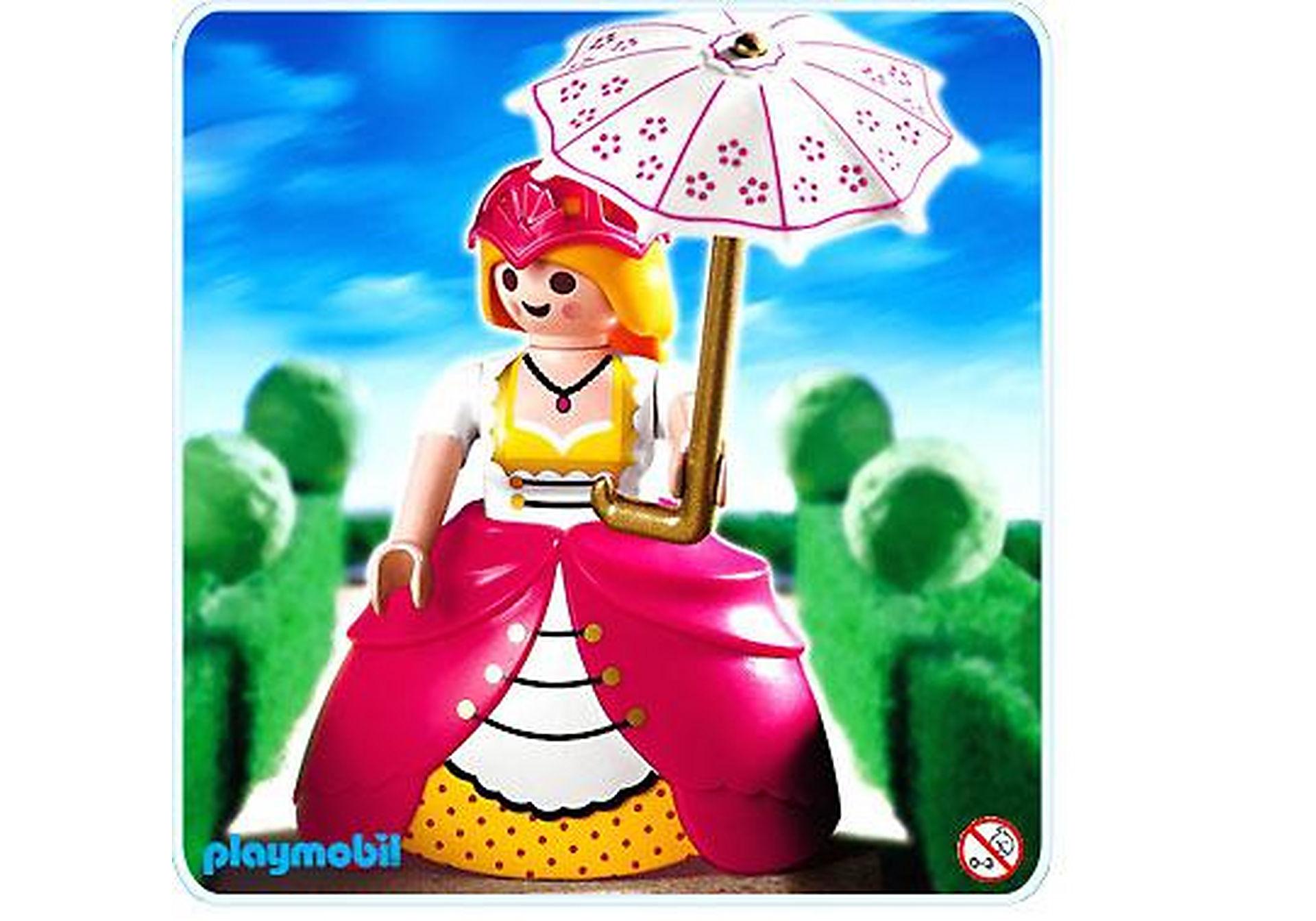 4639-A Dame de compagnie / ombrelle zoom image1