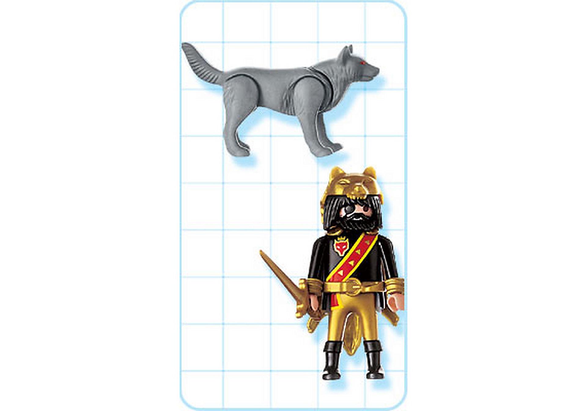 4644-A Maître des loups / loups zoom image2