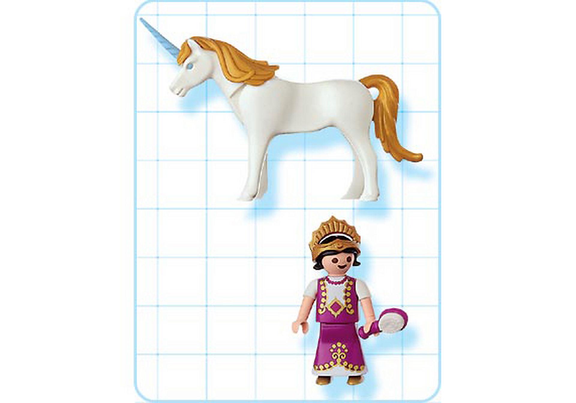 4645-A Einhorn mit Prinzessin zoom image2