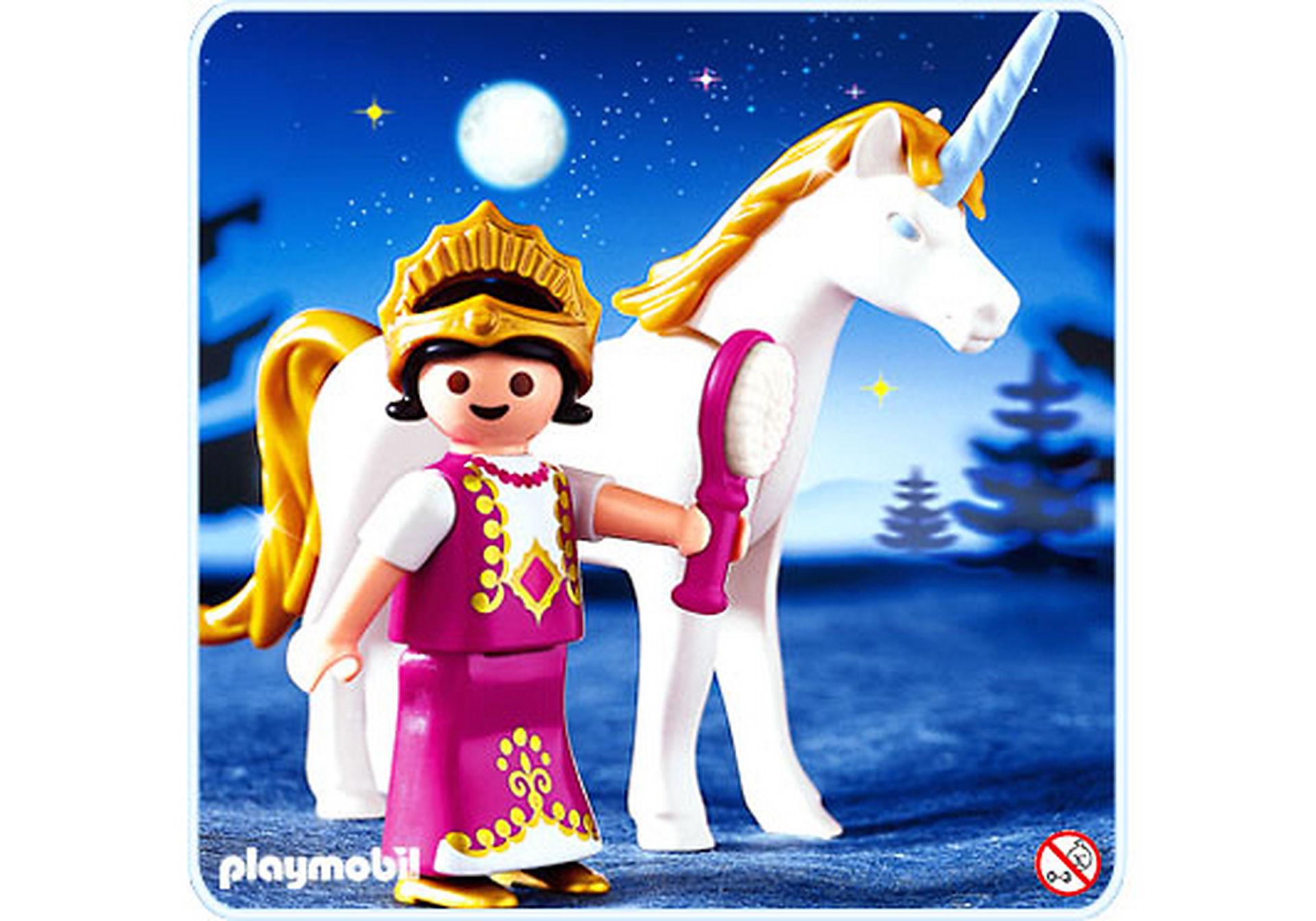 4645-A Einhorn mit Prinzessin zoom image1