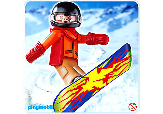 4648-A Snowboarder detail image 1