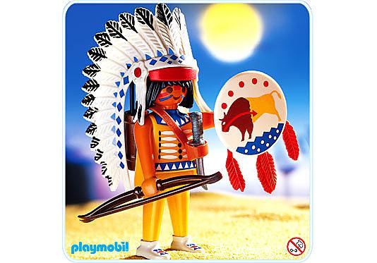 4652-A Indianerhäuptling detail image 1