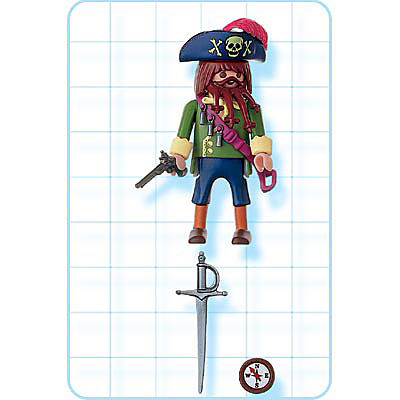 4654-A Pirate detail image 2