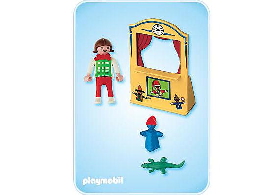 4664-A Enfant / théâtre de marionnettes detail image 2