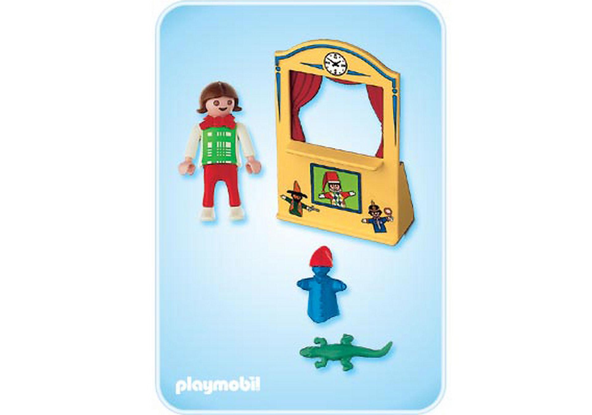 4664-A Enfant / théâtre de marionnettes zoom image2