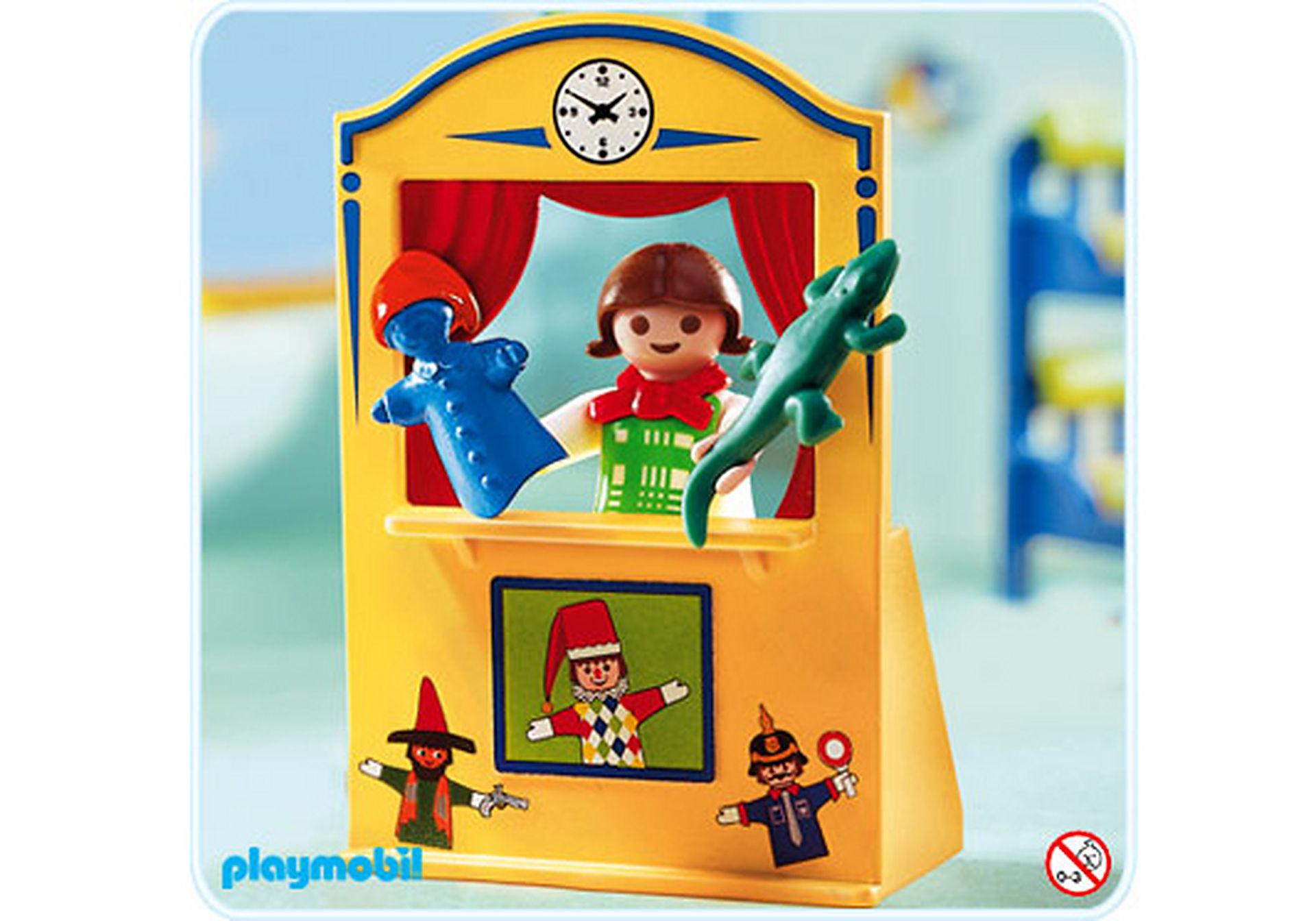 4664-A Enfant / théâtre de marionnettes zoom image1