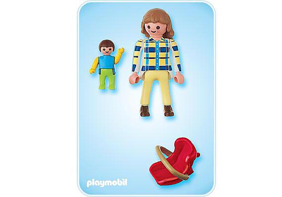 4668-A Mama mit Babyschale detail image 2