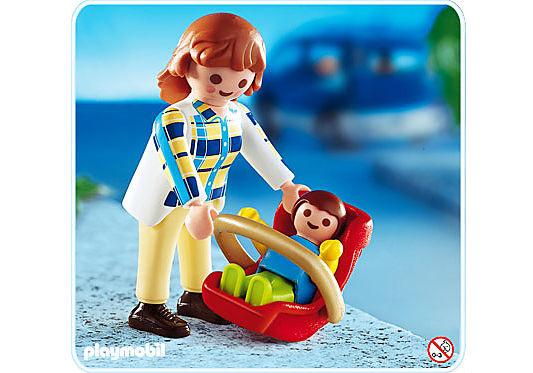 4668-A Mama mit Babyschale detail image 1