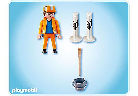 4682-A Straßenbauarbeiter detail image 2