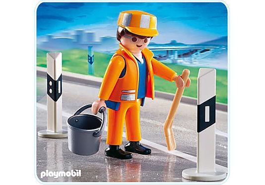 4682-A Straßenbauarbeiter detail image 1