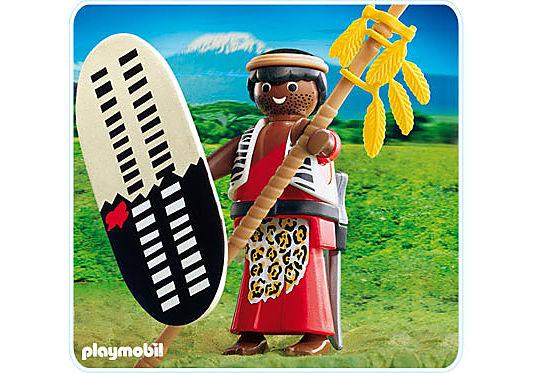 4685-A Massai-Krieger detail image 1