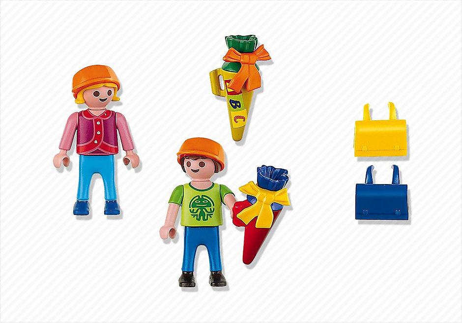 4686 Ecoliers avec pochettes surprises detail image 3