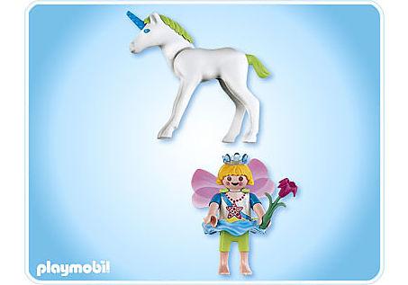 4692-A Elfenprinzessin mit Einhornbaby detail image 2